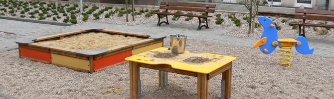 Le sedioline ed i tavolini